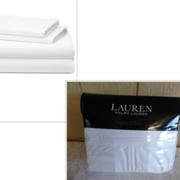 6b969652f6 Ralph Lauren Spencer Solid Sateen Queen Sheet Set